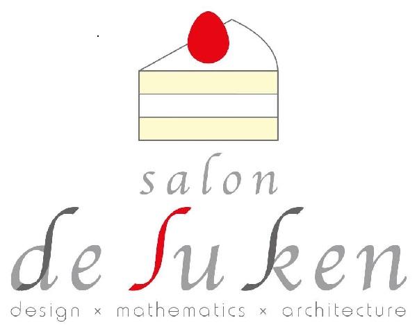 【川村さんの作った「Salon De ∫u Ken」のロゴ】